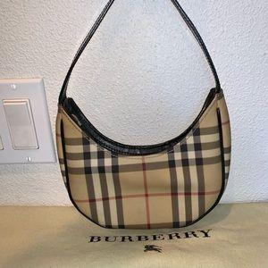 Authentic Burberry nova check mini pochette purse
